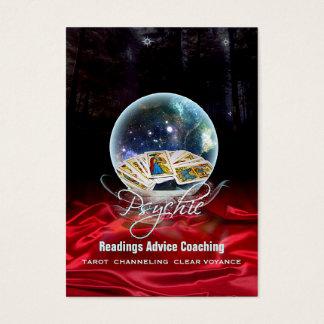 PSYCHISCH - Geschäft, Profil, Zeitplan-Karte Visitenkarte