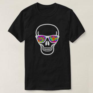 Psychisch-mit Augen Aussenseiter-Schädel T-Shirt