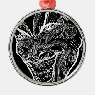 Psychisch Silbernes Ornament