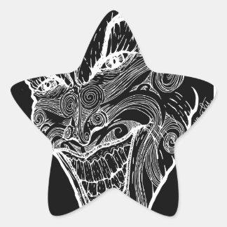 Psychisch Stern-Aufkleber