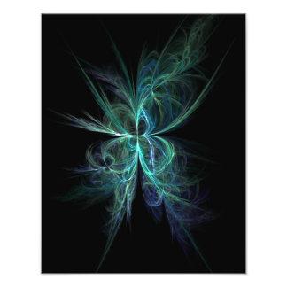 Psychische Energie-Fraktal Fotodruck
