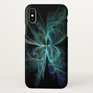 Psychische Energie-Fraktal iPhone X Hülle