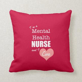 Psychische Gesundheiten Krankenpflege-ICh Kissen