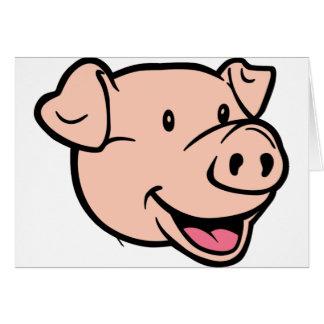 Psychischer Schwein-Euro 2012 Karte