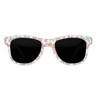 Psychisches Ostern-Muster bunt Brille