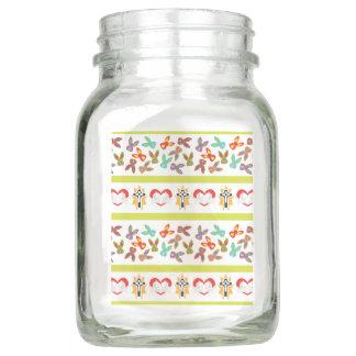 Psychisches Ostern-Muster bunt Einmachglas