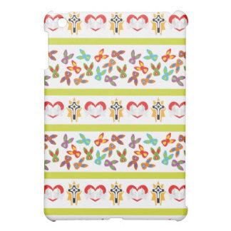 Psychisches Ostern-Muster bunt Hülle Für iPad Mini