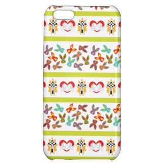 Psychisches Ostern-Muster bunt Hülle Für iPhone 5C