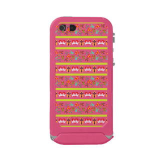 Psychisches Ostern-Muster bunt Incipio ATLAS ID™ iPhone 5 Hülle