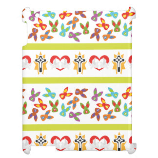 Psychisches Ostern-Muster bunt iPad Cover