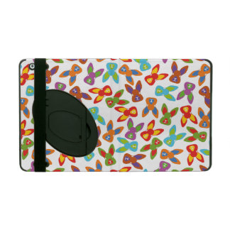 Psychisches Ostern-Muster bunt iPad Etui