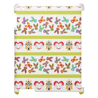 Psychisches Ostern-Muster bunt iPad Schale