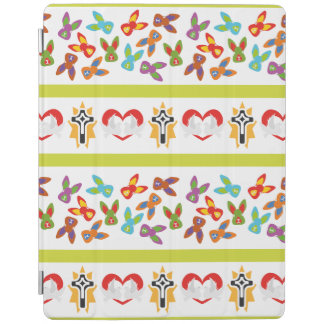 Psychisches Ostern-Muster bunt iPad Smart Cover