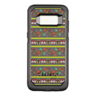 Psychisches Ostern-Muster bunt OtterBox Commuter Samsung Galaxy S8 Hülle