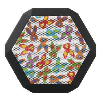 Psychisches Ostern-Muster bunt Schwarze Bluetooth Lautsprecher