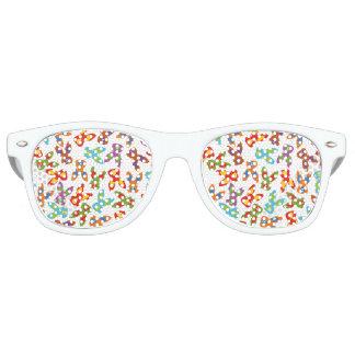 Psychisches Ostern-Muster bunt Sonnenbrille