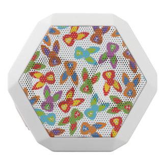 Psychisches Ostern-Muster bunt Weiße Bluetooth Lautsprecher