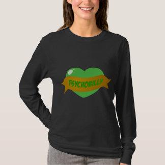 Psychobilly Tätowierungs-Herz T-Shirt