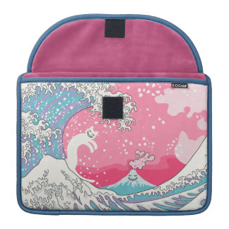 Psychodelic Bubblegum Kunagawa MacBook Pro Sleeve