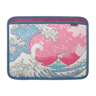 Psychodelic Bubblegum Kunagawa MacBook Sleeve