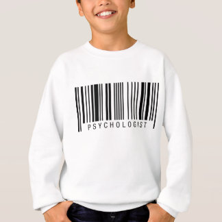 Psychologe-Barcode Sweatshirt