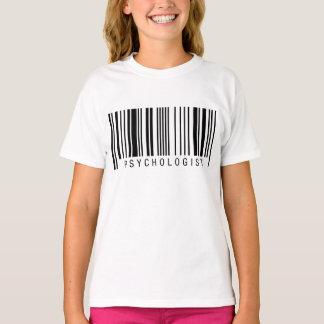Psychologe-Barcode T-Shirt