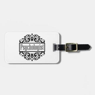 Psychologe-Damast Gepäckanhänger