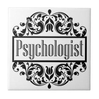 Psychologe-Damast Keramikfliese