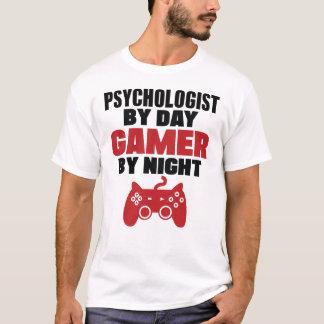 Psychologe durch Tagesgamer bis zum Nacht T-Shirt