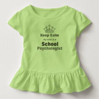 Psychologe-Kleinkind-Rüsche-T-Stück meiner Mammas Kleinkind T-shirt