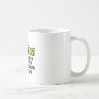 Psychologe-… überlegene Intelligenz Kaffeetasse