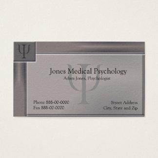 Psychologe-Visitenkarte Visitenkarte