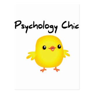 Psychologie-Chic Postkarte