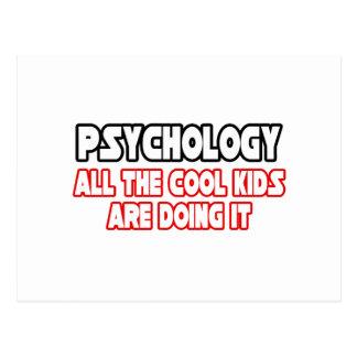 Psychologie-… coole Kinder Postkarte