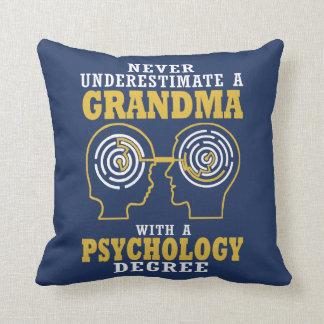 Psychologie-Großmutter Kissen