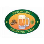 Psychologie-trinkendes Team Postkarten
