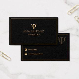 Psychology Geschäft Card Visitenkarte