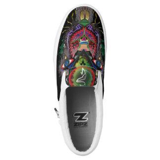 Psychotische Schaffung Slip-On Sneaker