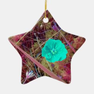 Psycodelia Blumen-einzigartiges Trendy modernes Keramik Ornament
