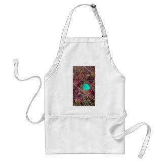 Psycodelia Blumen-einzigartiges Trendy modernes Schürze