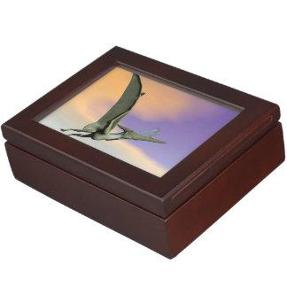 Pteranodon Dinosaurierfliegen - 3D übertragen Erinnerungsdose