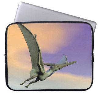Pteranodon Dinosaurierfliegen - 3D übertragen Laptopschutzhülle