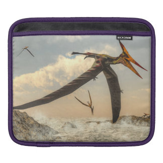 Pteranodon Vögel - 3D übertragen iPad Sleeve