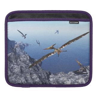 Pteranodon Vögel - 3D übertragen Sleeve Für iPads