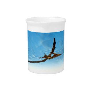Pteranodon Vogelfliegen - 3D übertragen Krug