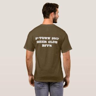 Ptown Bärn-Shirt mit Rückseite T-Shirt