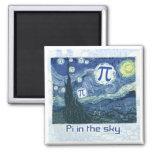 PU in den Himmel-Geschenk-Ideen Magnete