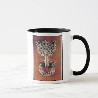 P'u shou Türklopfer mit einem taotie Entwurf Tasse