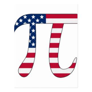 PU-Tagesamerikanische Flagge, PU-Symbol Postkarte