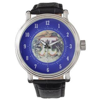 PU-Zahl auf Aussenseiter der Erde| Armbanduhr